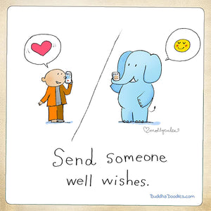 Today's Doodle: Send someone well wishes