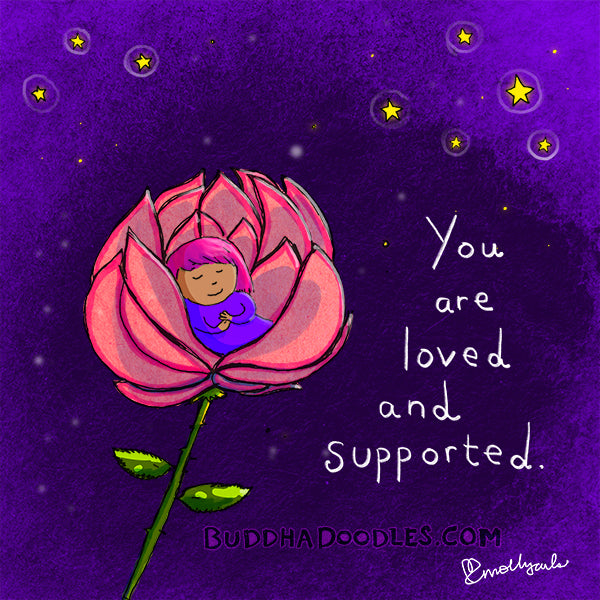 Today's Doodle: You are loved and supported