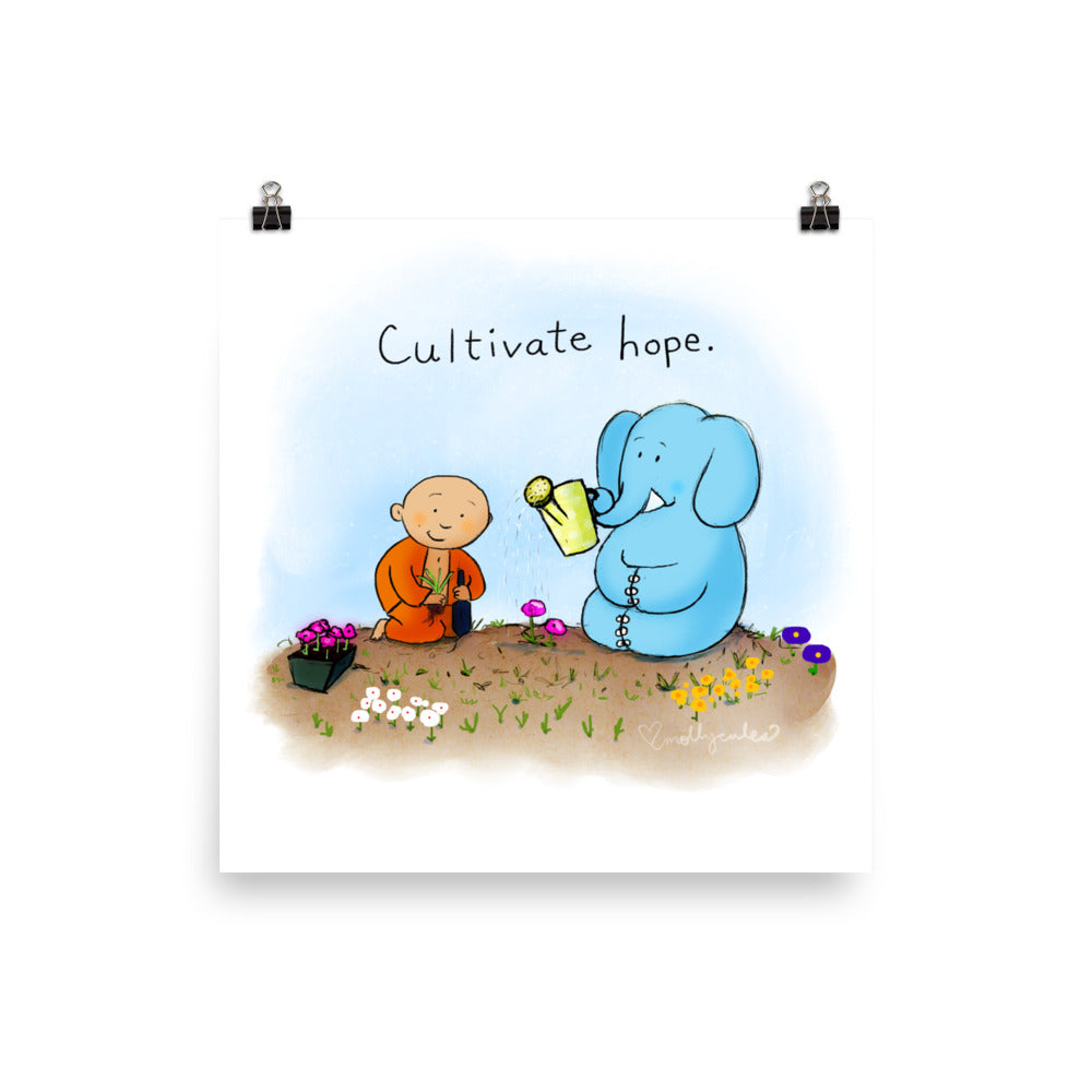 Art Print:  Cultivate Hope