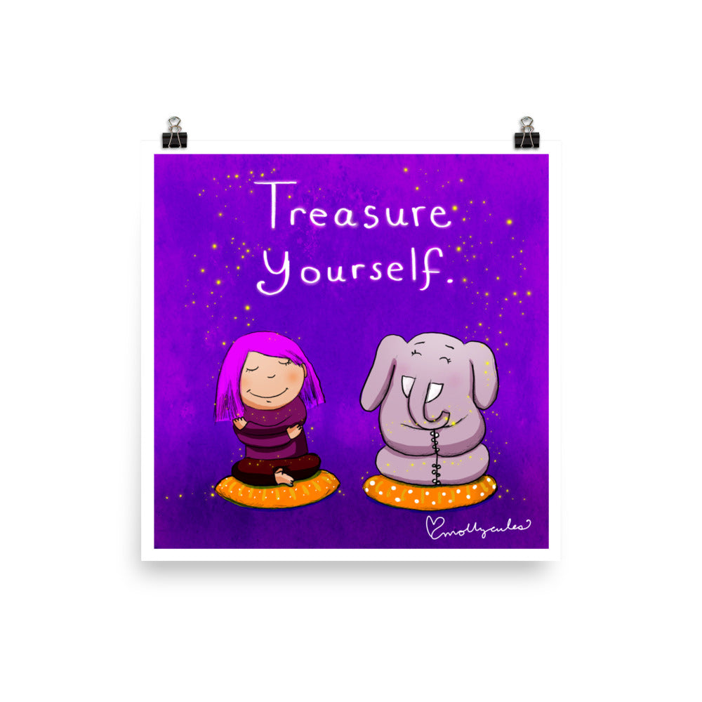 Art Print:  Treasure Yourself