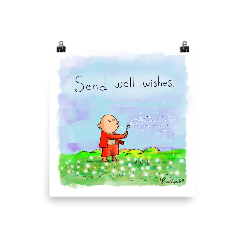 Art Print: Send Well Wishes