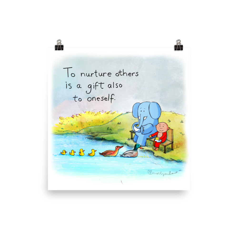 Art Print: Face Nurture others