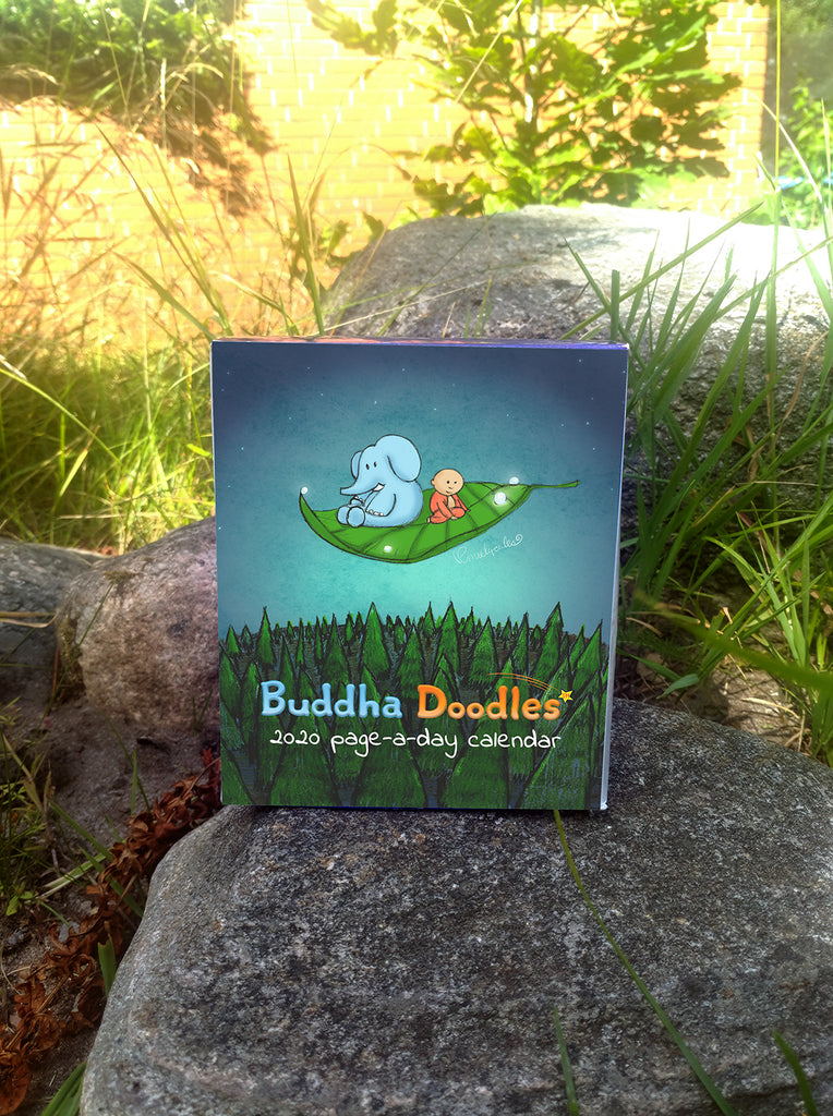 2020 Buddha Doodle Page-A-Day Calendar (Limited-Quantity)