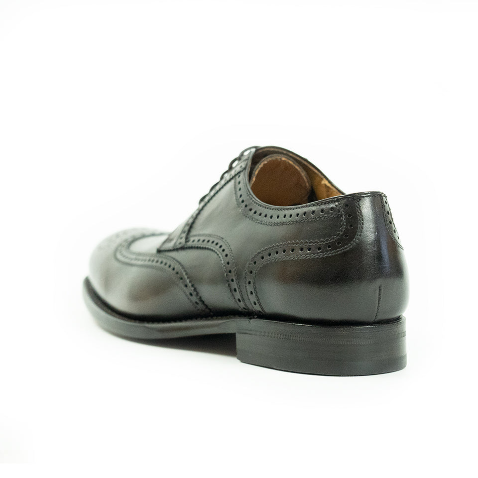 Berwick 1707 Brogues (Dark Brown) - Camden Connaught Luxury Shoes