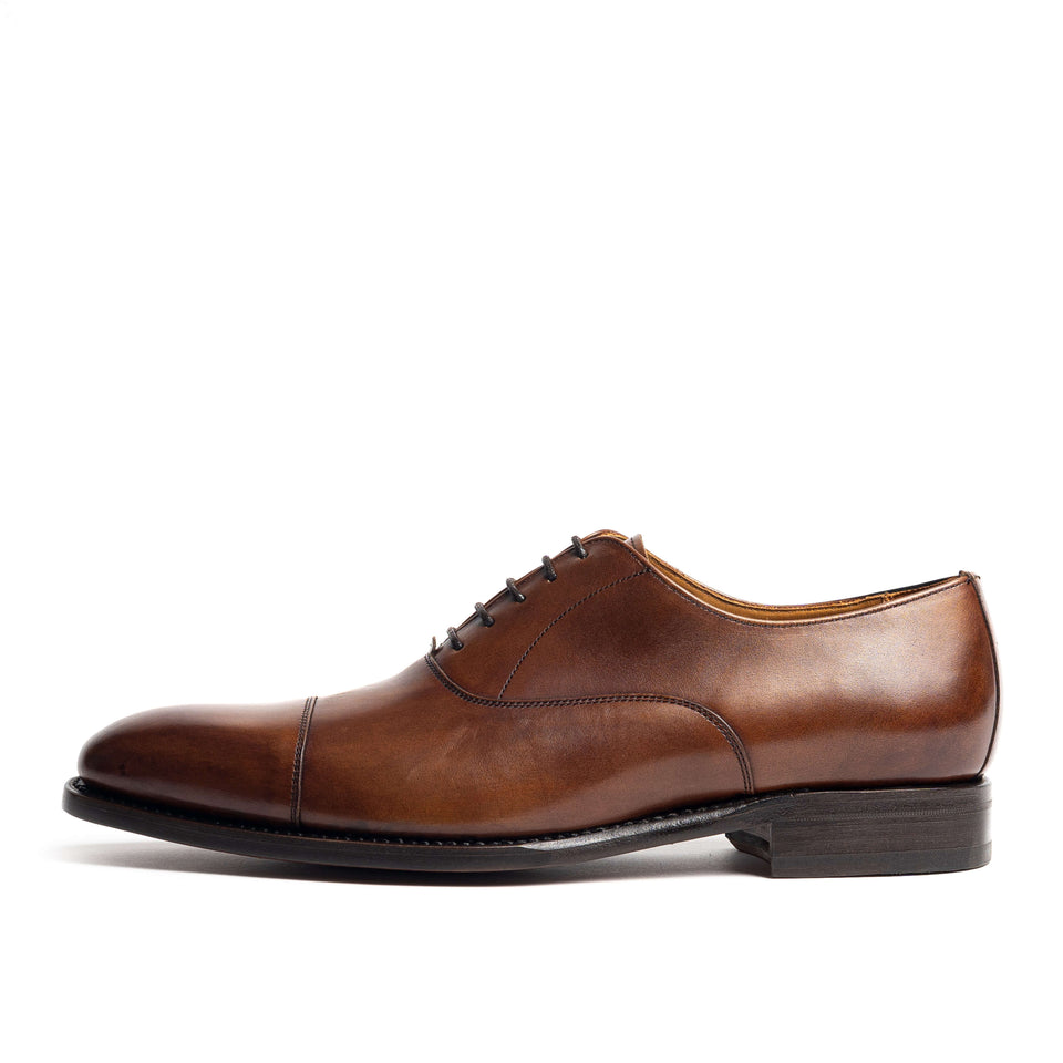 Berwick 1707 Capped Oxford - Camden Connaught Luxury Shoes