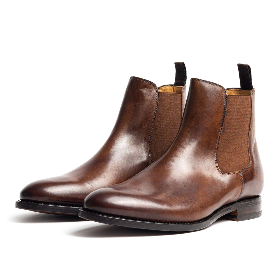 Berwick 1707 Chelsea Boot (Tan) - Camden Connaught Luxury Shoes