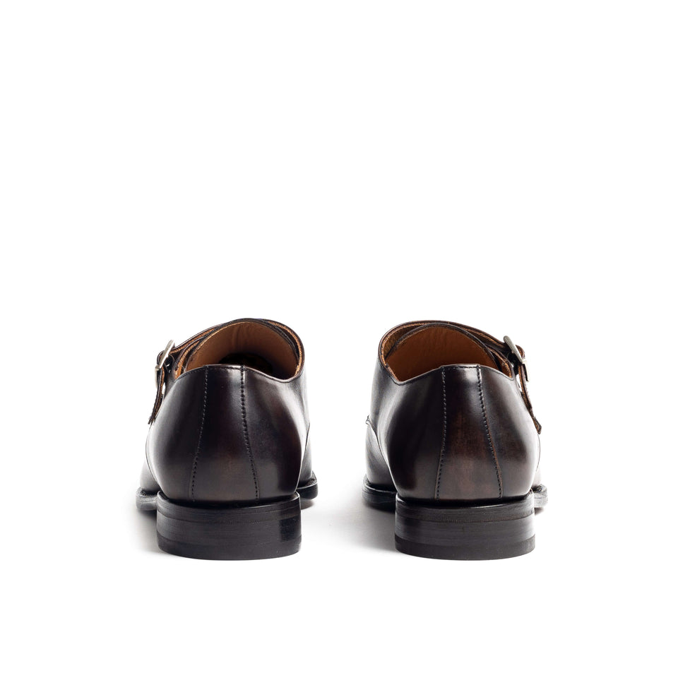 Berwick 1707 Double Monk - Camden Connaught Luxury Shoes