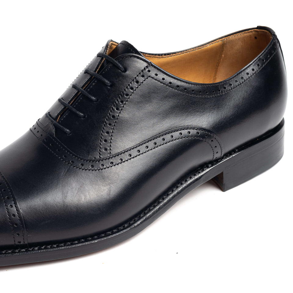 Berwick 1707 Oxford - Semi Brogue - Camden Connaught Luxury Shoes