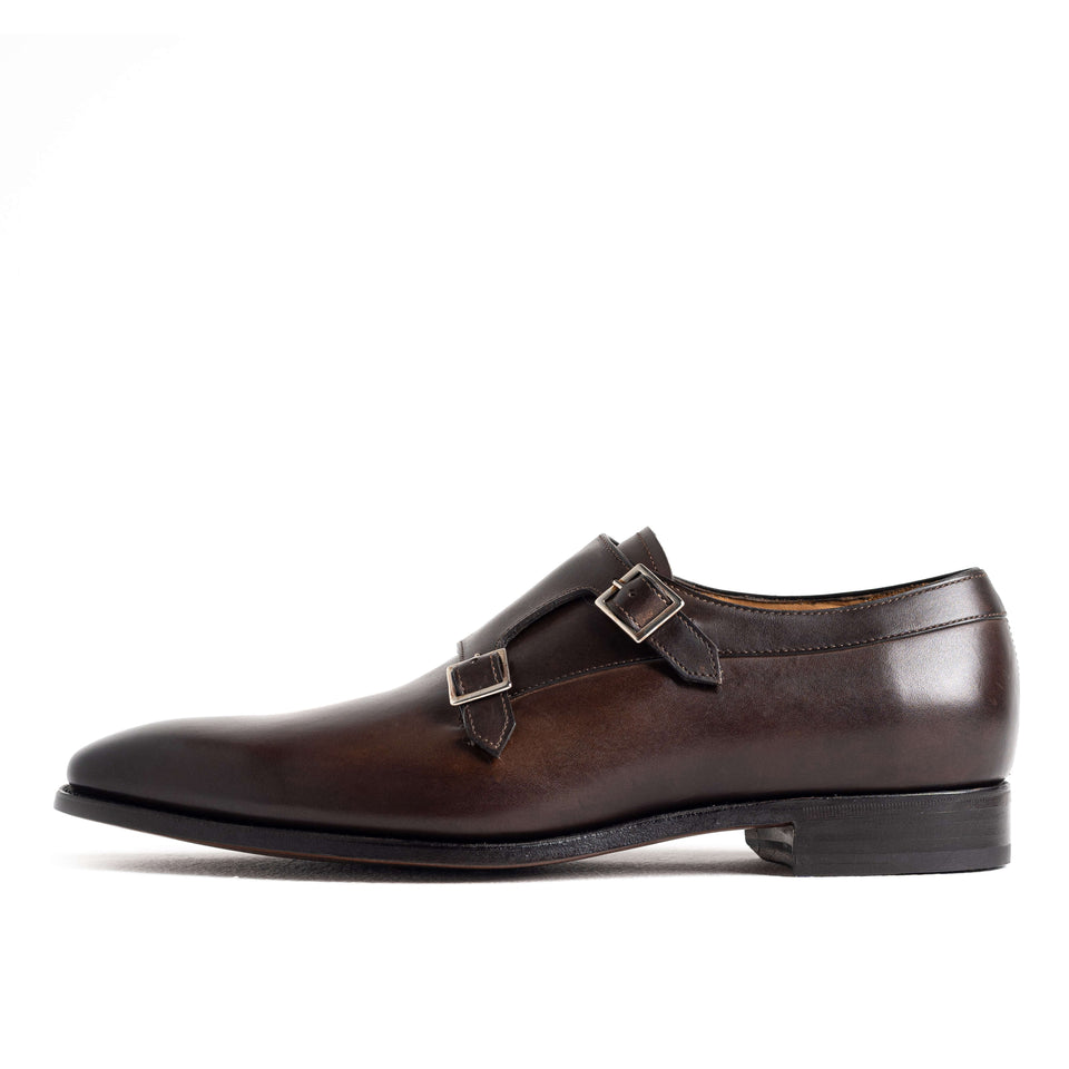 Carlos Santos Double Monk - Camden Connaught Luxury Shoes