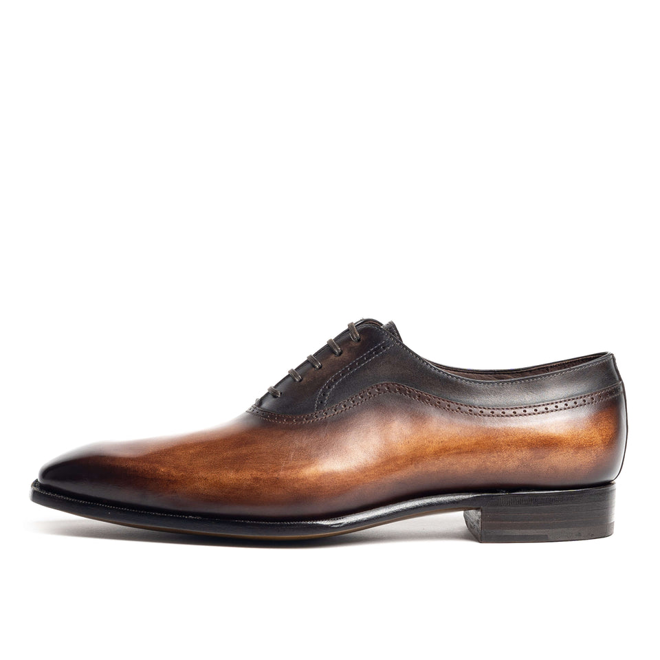 Carlos Santos Hand Grade Oxford - Camden Connaught Luxury Shoes