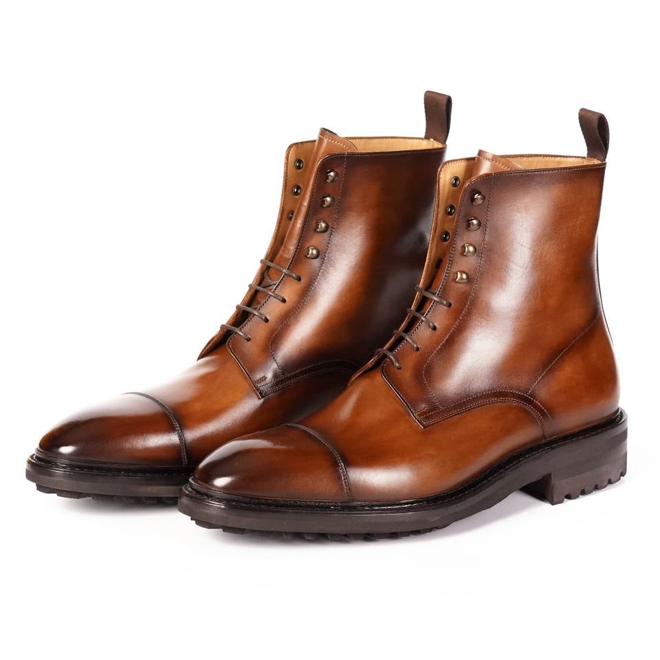 Carlos Santos Jumper Boots (Algarve) - Camden Connaught Luxury Shoes