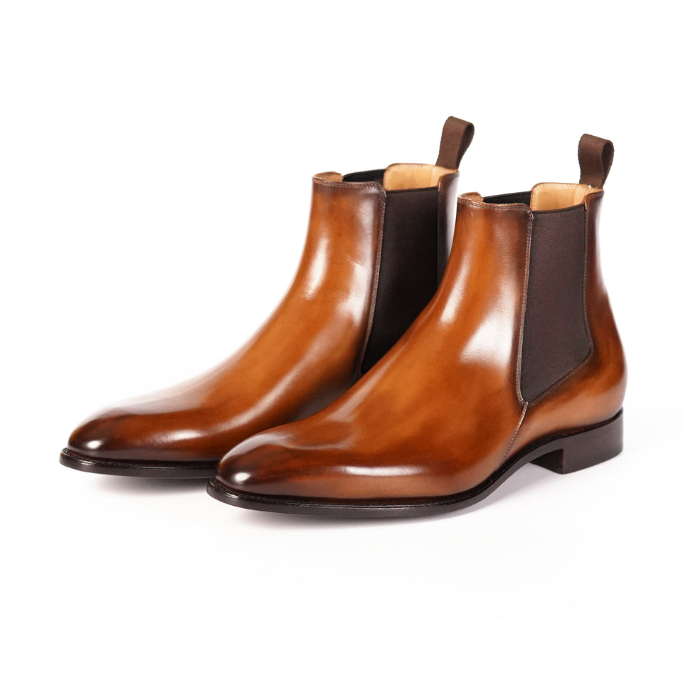 Carlos Santos Chelsea Boot (Algarve) - Camden Connaught Luxury Shoes