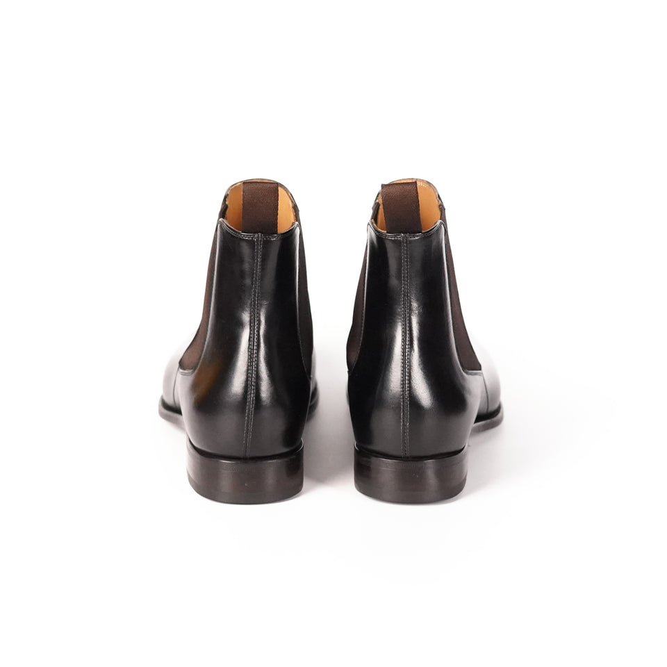 Carlos Santos Chelsea Boot (Noir Shadow) - Camden Connaught Luxury Shoes