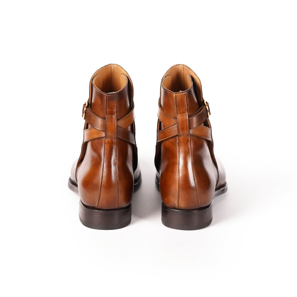 Carlos Santos Jodhpur Boot (Algarve) - Camden Connaught Luxury Shoes