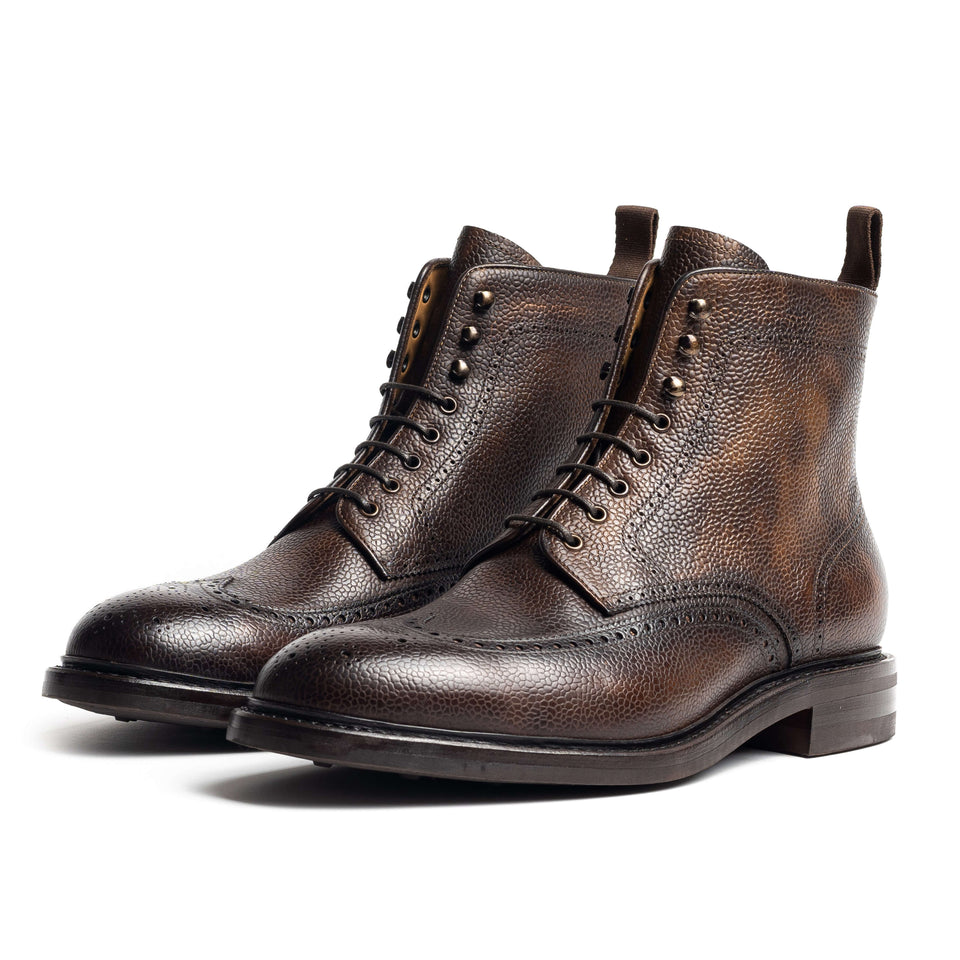 Carlos Santos Brogue Boot - Camden Connaught Luxury Shoes