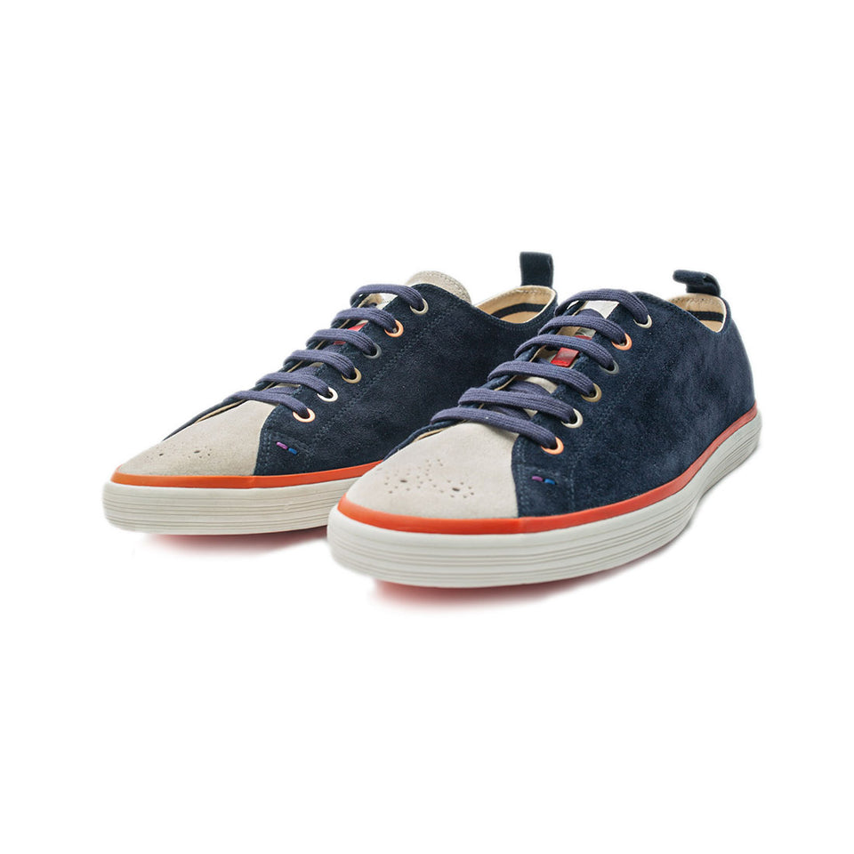 Paul Smith Navy Bernard Galaxy Shoes - Camden Connaught Luxury Shoes