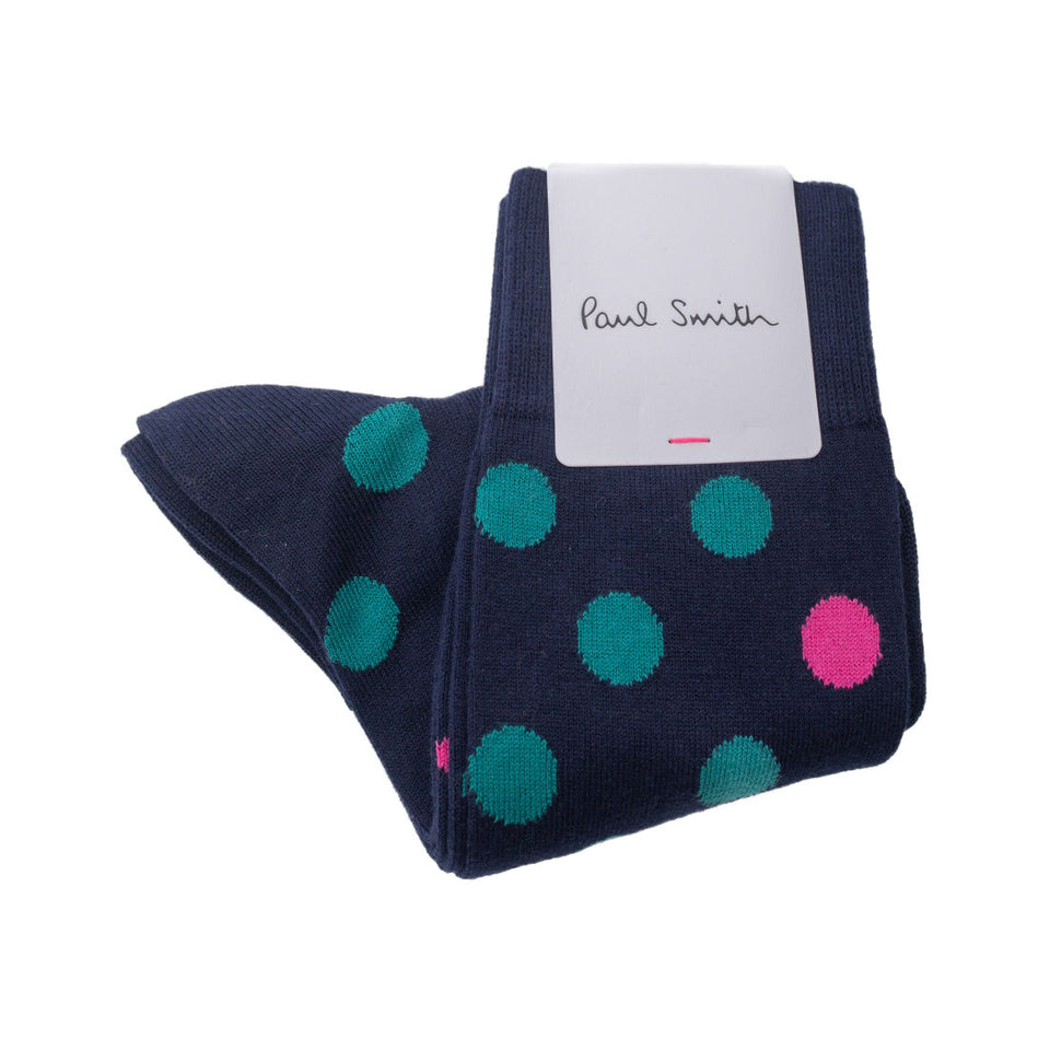 Paul Smith Multicolour Polka Dot Socks - Camden Connaught Luxury Shoes
