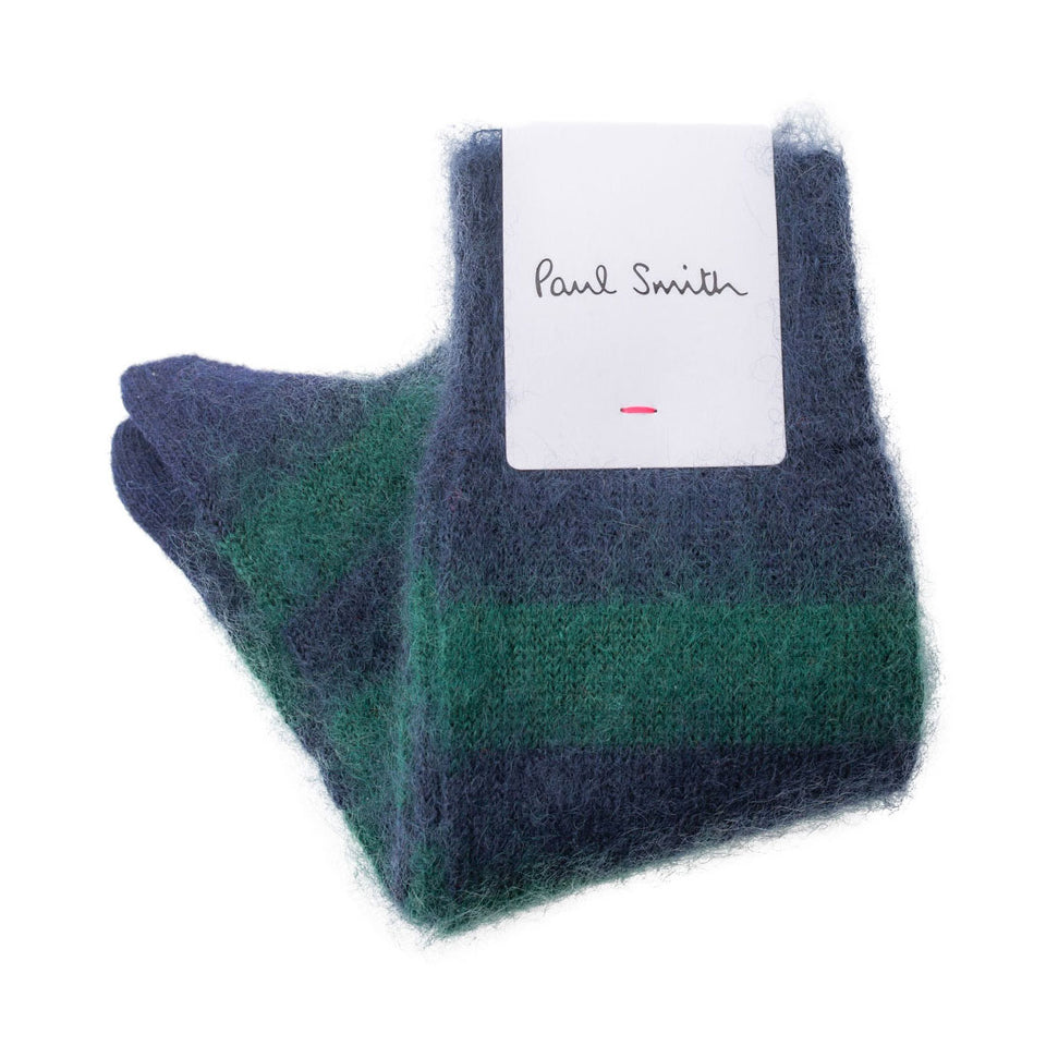 Paul Smith Mohair Socks - Camden Connaught Luxury Shoes