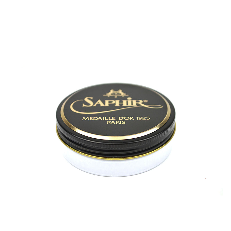 Saphir Medaille D'Or Pate De Luxe Wax Polish - Neutral - Camden Connaught Luxury Shoes
