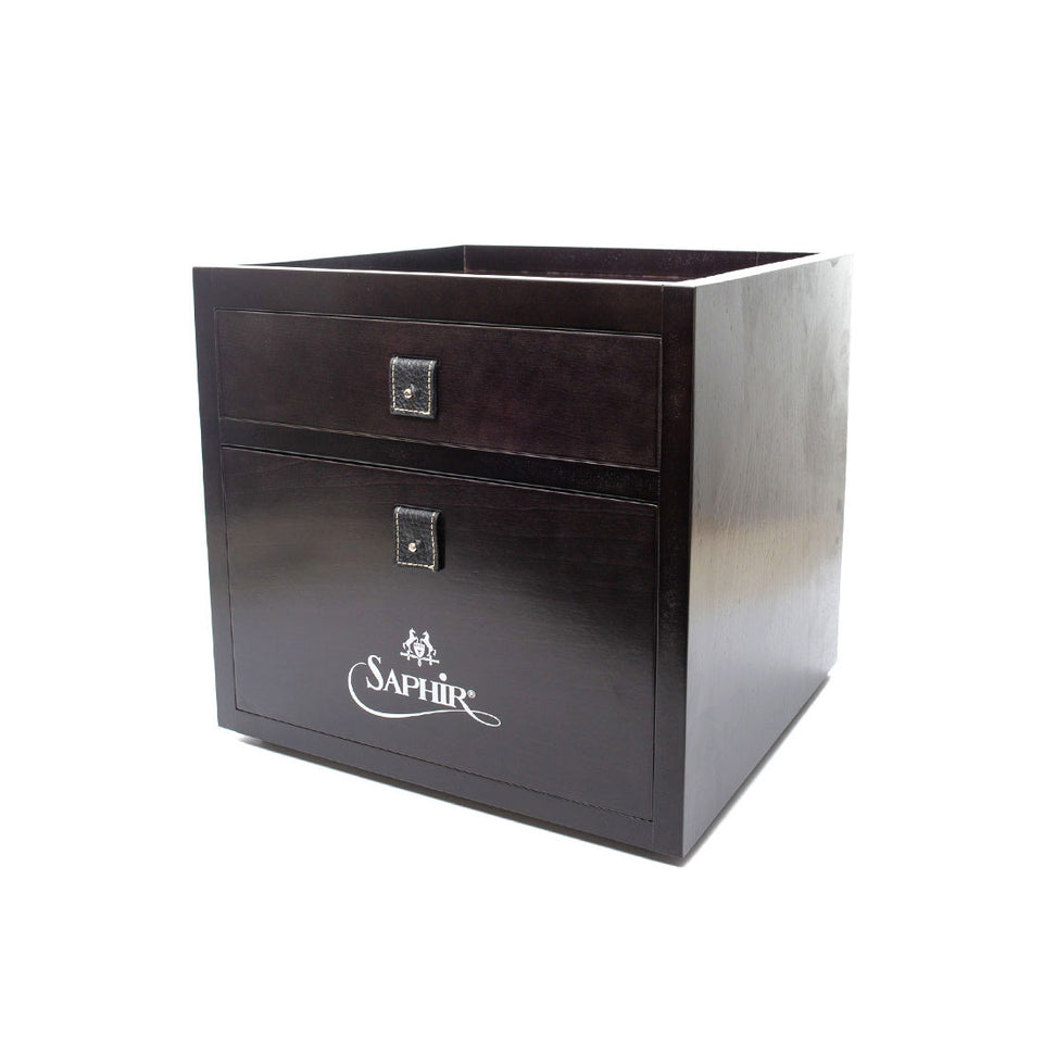 Saphire Medaille D'Or Drawer Valet Box - Camden Connaught Luxury Shoes