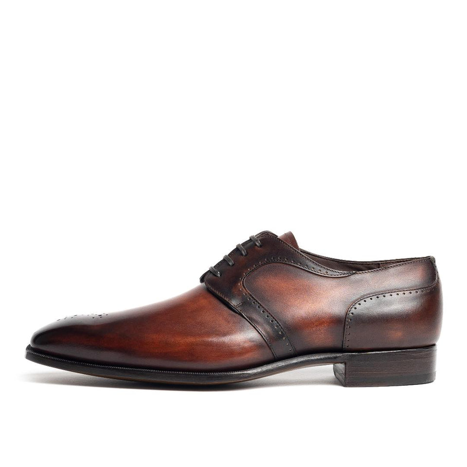 Carlos Santos Hand Grade Derby - Camden Connaught Luxury Shoes