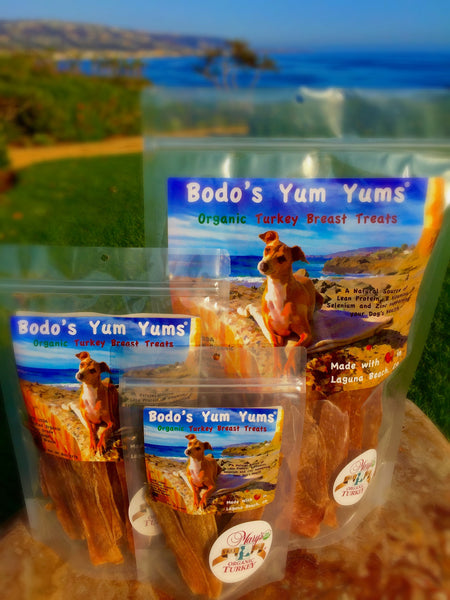 Bodo's Yum Yums Organic Turkey Breast Treats