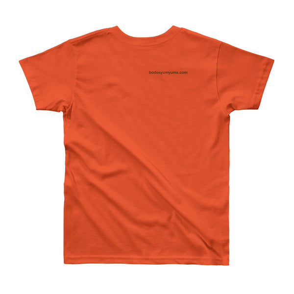 Youth American Apparel Unisex T-Shirt Brown Print