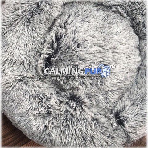 Frost Calming Dog Bed Double Gray - Calming Pup - Calming Pup Dog Beds - Calming Pup Official