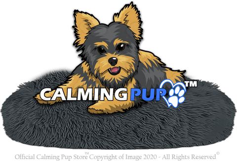 Calmingpup Calming Dog Bed - Dog Calming Bed - Calming Bed