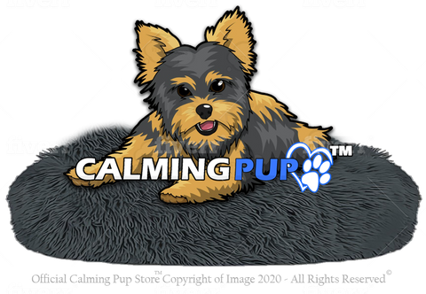 Calming Pup Calming Dog Bed - Anti Pet Anxiety Dog Bed - Free Shipping