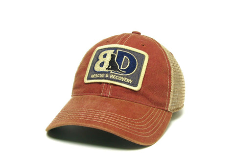 Buddha Dog Rescue & Recovery Trucker Hat