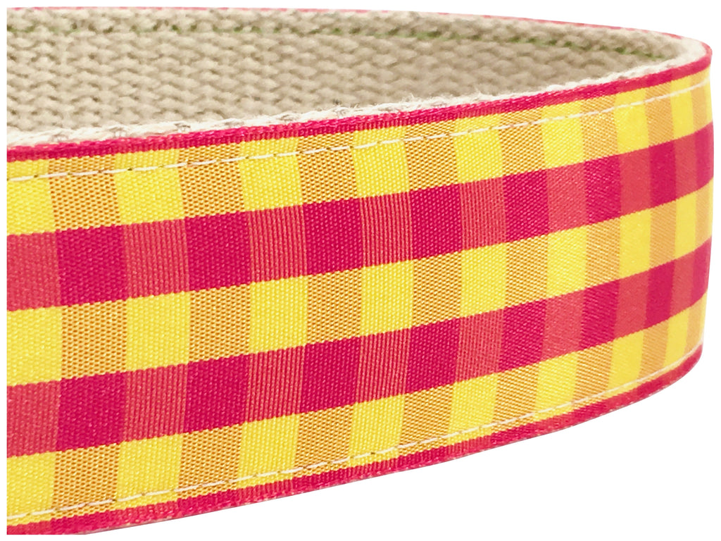 Sunset Gingham 1.5""
