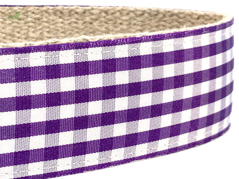 Gingham Grape 1.5""