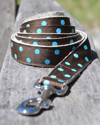 Dot Blue Leash