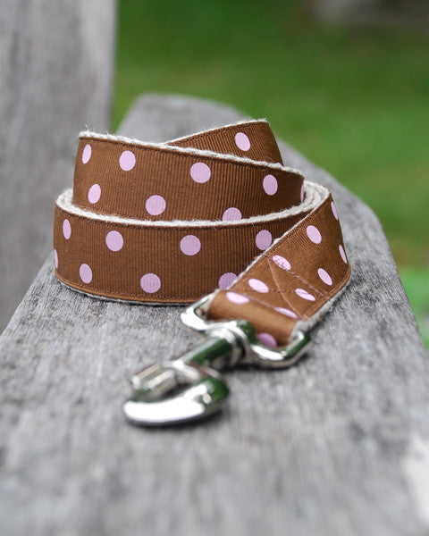 Dot Pink Leash