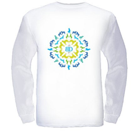 Long Sleeve Bamboo Mandala T-Shirt