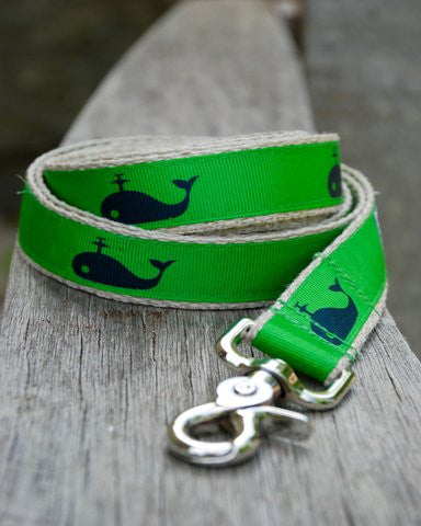Preppy Whale Leash