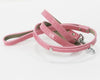 Pink wedding dog leash ideas birthday party pet accessory