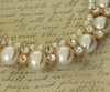 Pearl dog necklace jewelry pet wedding ideas