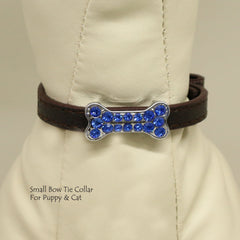 Copy of Dog Cat Collar, Leather, Charm, XS Collars,  Puppy collars, Cat Collar, kitten collar, Pet collar