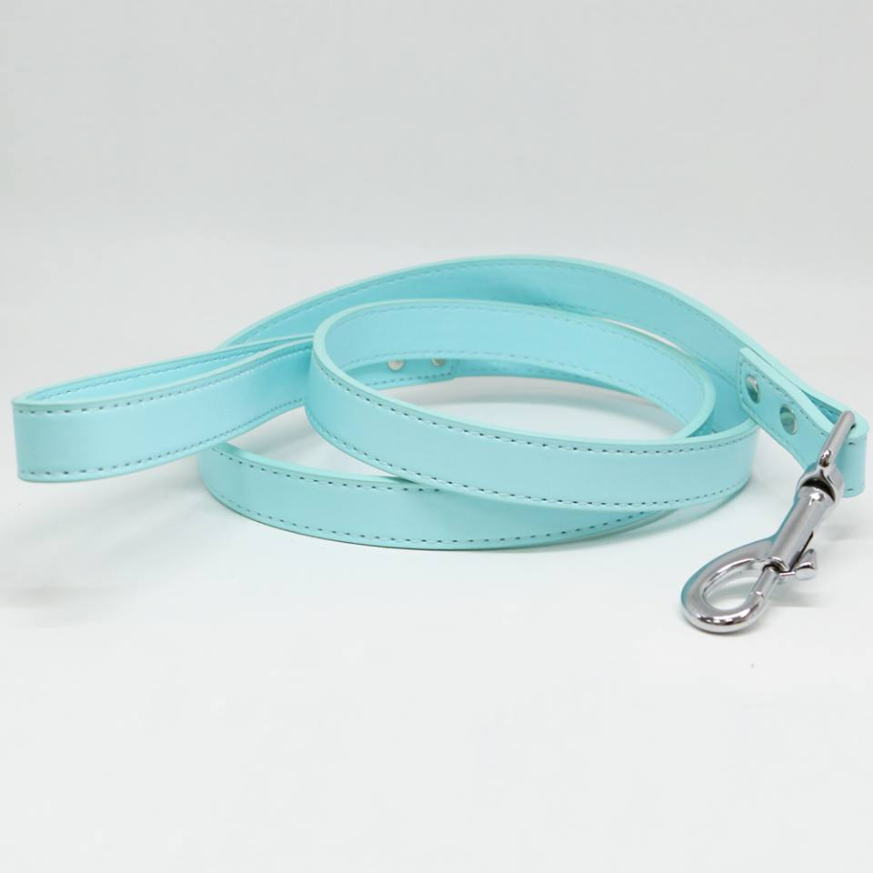 Red dog Leash Puppy Leash Dog Lovers Red Leather leash Pet Wedding accessory