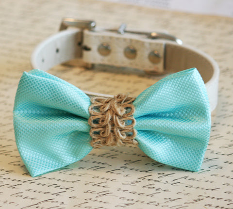 Blue dog bow tie Beach wedding, Country wedding, Dog Lovers, Dog birthday gift