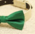 Green Dog Bow Tie, Bow attached  to dog collar, dog lovers, Green wedding accessory, dog birthday gift, dog collar, dog lovers, Dog collar - LA Dog Store  - 2