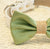 Green and burlap Dog Bow Tie, Burlap Wedding, Country rustic wedding, Pet Accessory, Dog Lovers, Burlap Pet wedding accessory - LA Dog Store  - 2