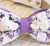 Lavender Dog Bow Tie, Purple Wedding, Pet wedding accessory, Wedding accessory, Victorian wedding, Love Purple - LA Dog Store  - 2
