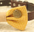 Mustard Dog Bow Tie, Bow attached to brown dog collar, Pet accessory, Charm, dog lovers, Cat bow, Burlap bow tie, Never give up, gift - LA Dog Store  - 2