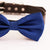 Royal blue bow tie collar handmade XS to XXL collar and bow adjustable Puppy bow tie dog of honor ring bearer Blue Navy royal blue collar