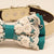 Teal Blue Lace dog bow tie collar, Lace, charm,Heart, Pet wedding accessory