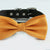 Burnt orange bow tie collar XS to XXL collar and bow tie, adjustable, Puppy bow tie, handmade, dog of honor ring bearer, rust orange