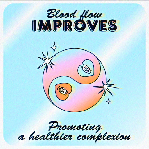 What happens to your skin when you quit smoking. Blood flow improves, promoting a healthier looking complexion